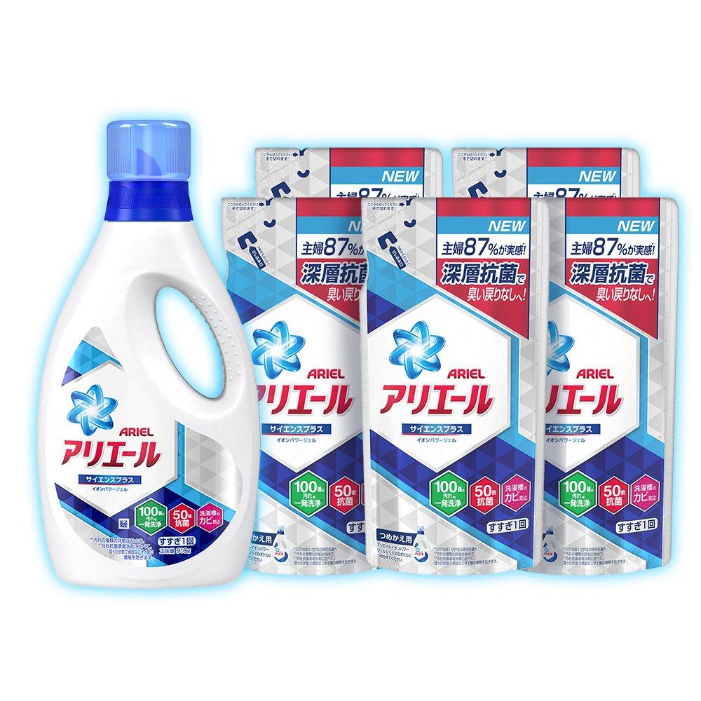 蝦皮購物P&G攜手舉辦品牌周,Ariel超濃縮洗衣精1+5組下殺4.5折破盤價5...
