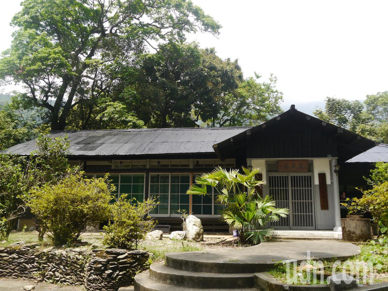五木齋是扇平園區內著名的日式建物,建築材料是檜木與烏心石。記者徐白櫻/攝影