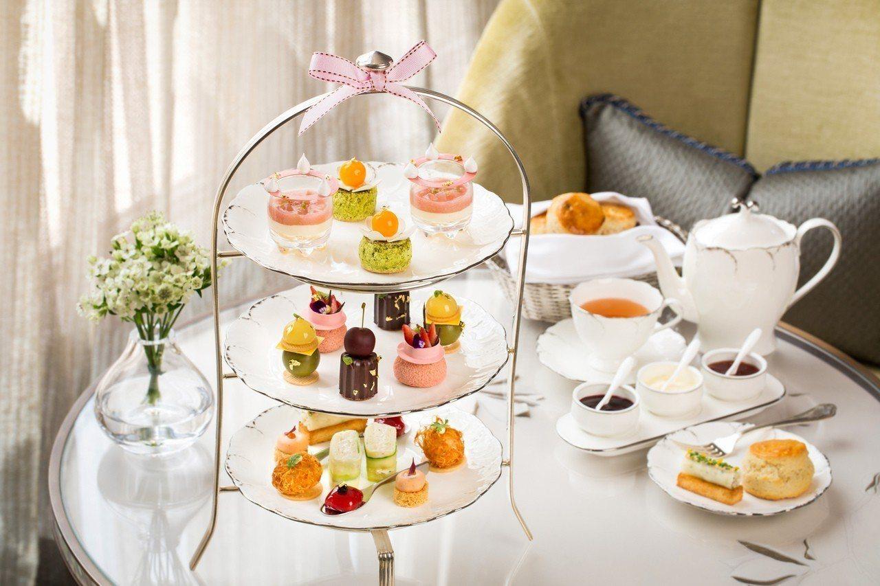 「初夏果漾」下午茶。圖/文華東方酒店提供