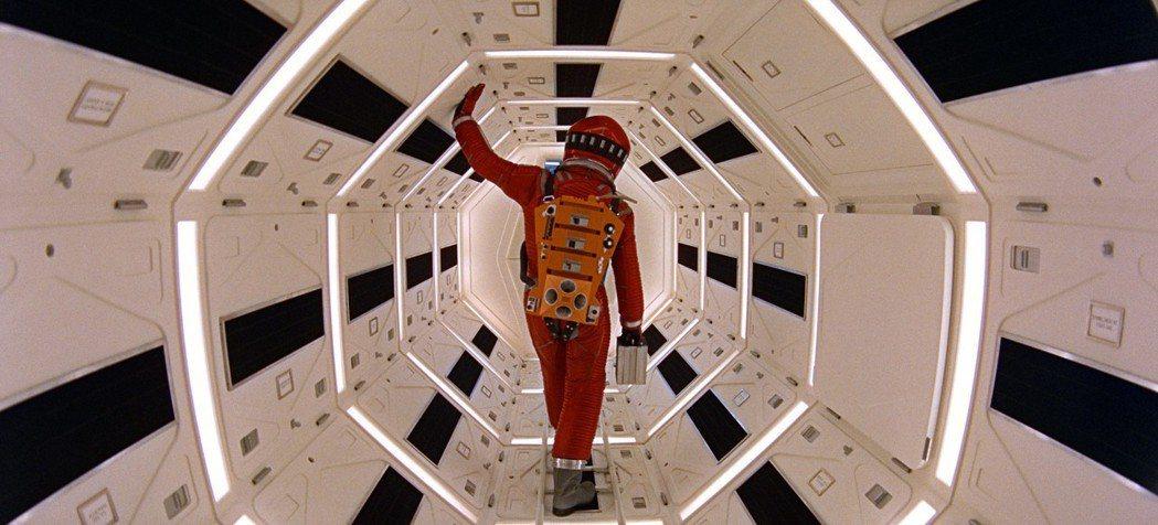 「2001:太空漫遊」歡慶50周年,坎城特別放映引起排隊熱潮。圖/美聯社