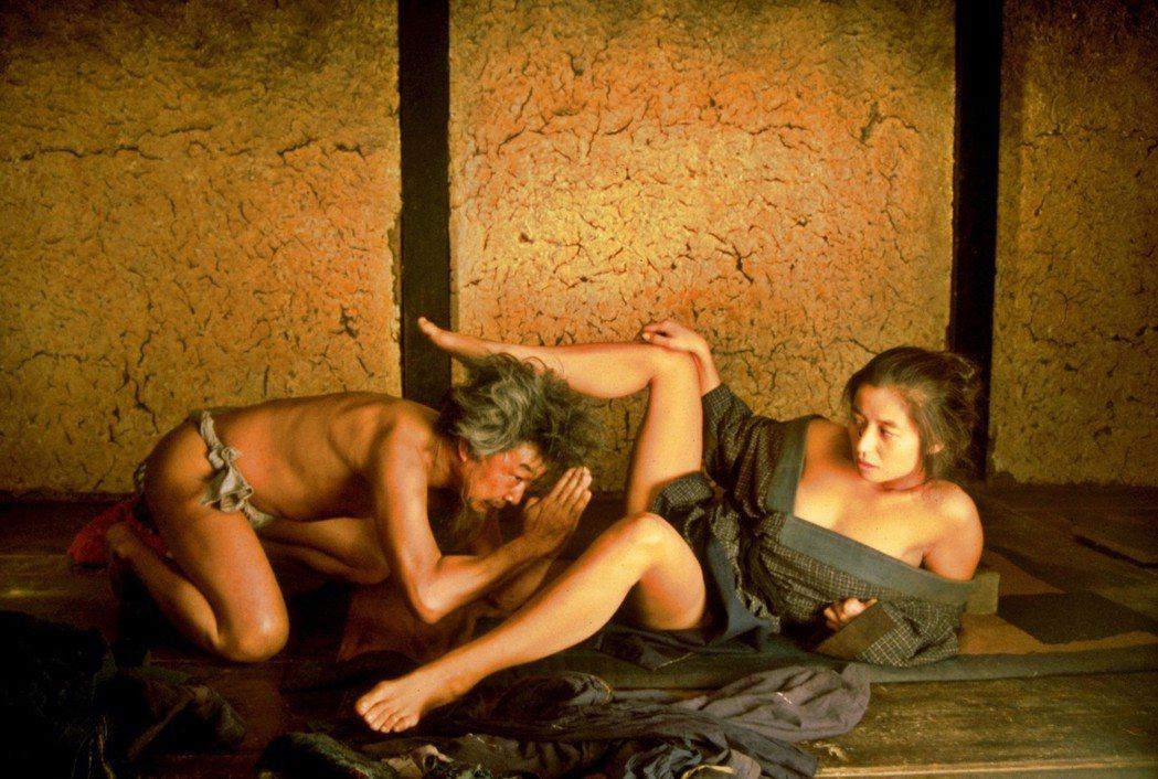 坎城影展最佳影片「楢山節考」情色尺度大,昔日在台送檢無法通過。圖/双喜提供
