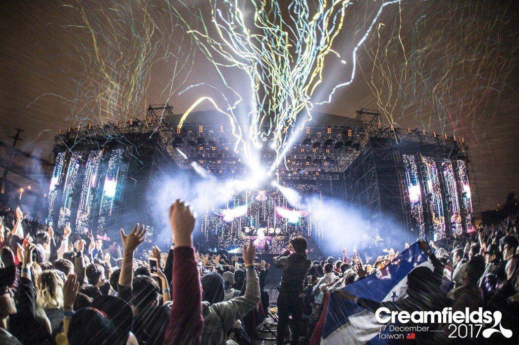 「Creamfields」 (奶油田) 去年曾在台引起參與盛況。圖/超級圓頂提供