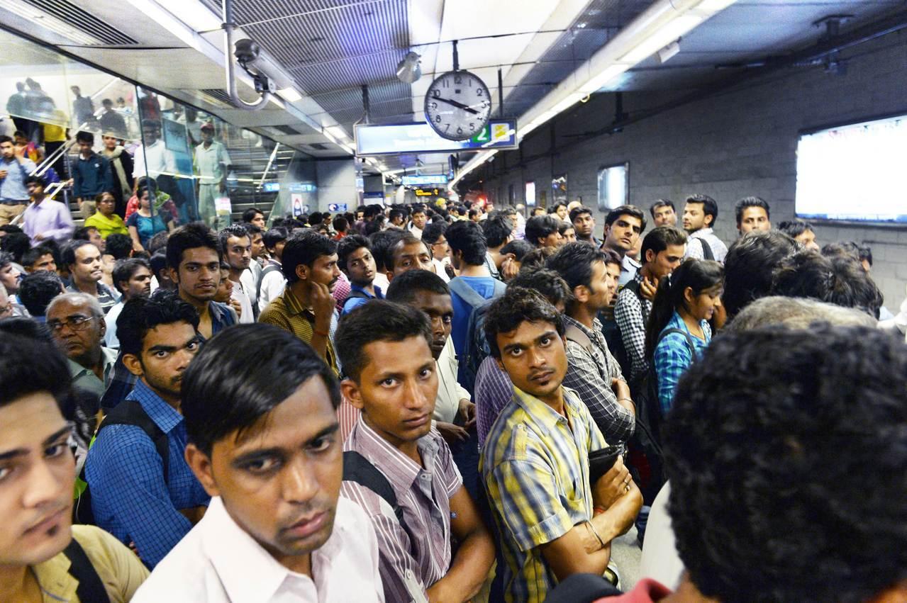 根據聯合國的預估,印度德里將在2028年取代日本東京,成為全球人口數最多的大都市...