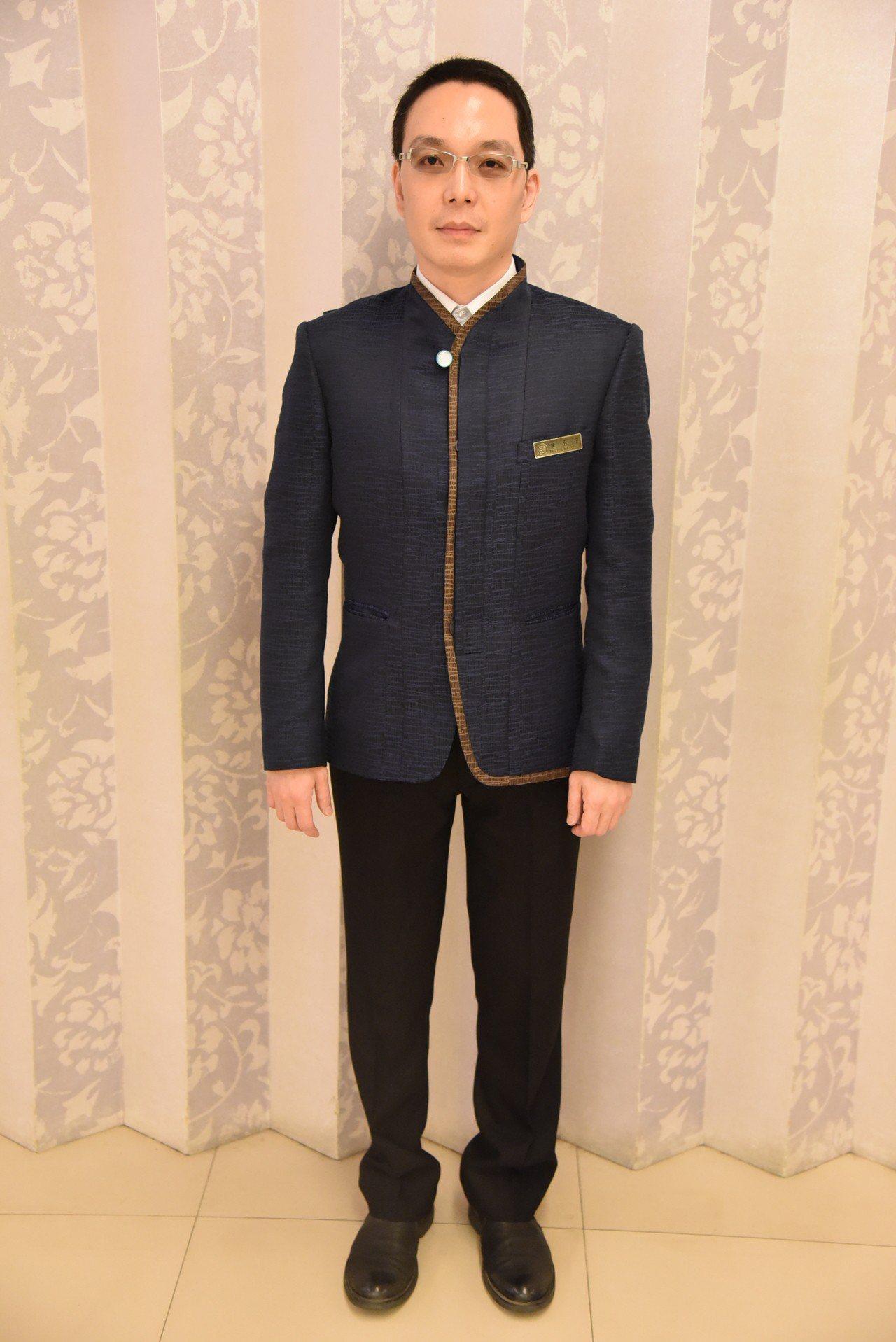 故宮邀設計師為工作人員設計全新制服,將於518國際博物館日全面換裝。圖/故宮提供