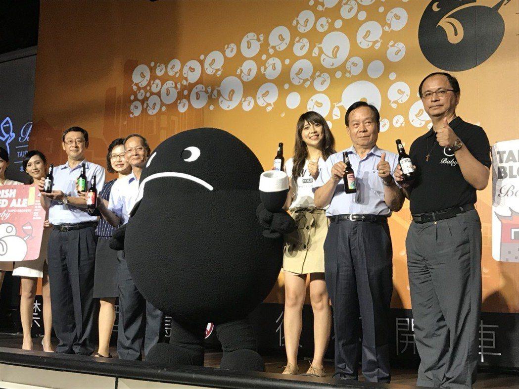 台北啤酒工場與台北市政府觀光傳播局合作,推出「Baby」北啤精釀啤酒品牌,是史上...
