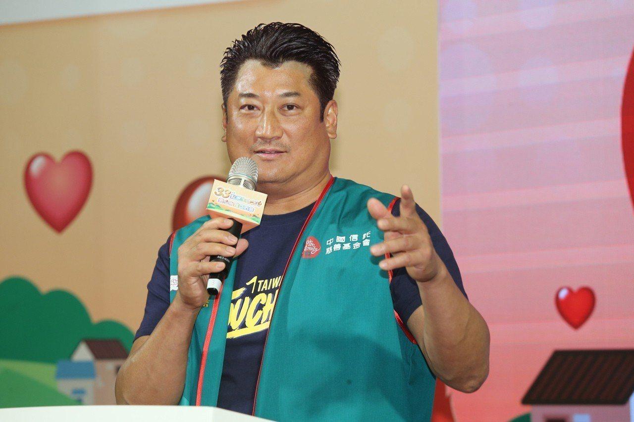 中國信託慈善基金會董事長辜仲諒,若無意外應會當選新任棒協理事長。 聯合報系資料照