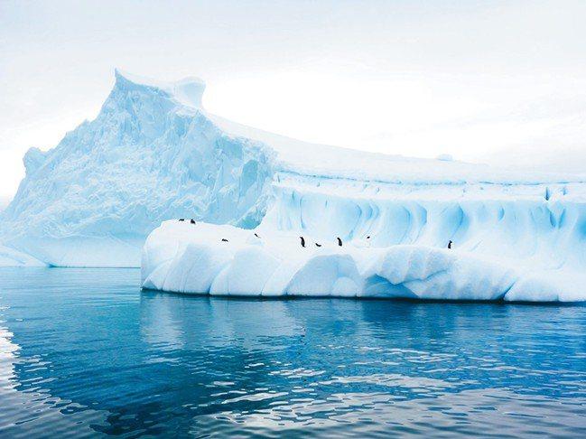 青峰到南極,有異次元的感受。 圖/姚謙、大房小山提供