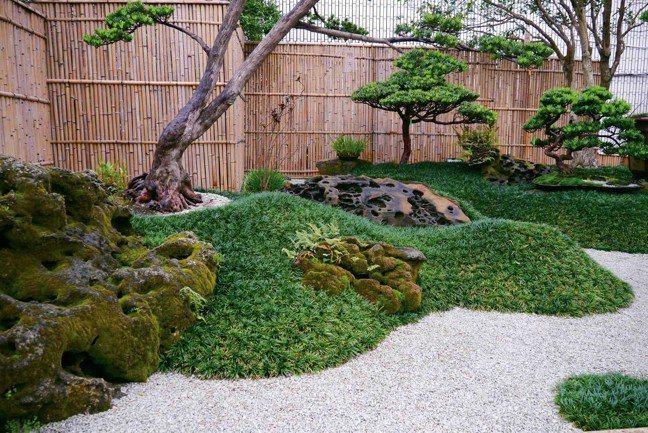 日式庭園之美,藉由不同的空間安排設計,展現高質感。 圖/滿峯園、CNFlower...