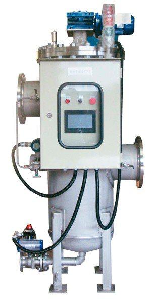 千涵國際的自動清洗過濾器。 千涵國際/提供