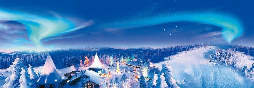拉普蘭的耶誕老人村一圓兒時的幻想。 圖/各業者提供