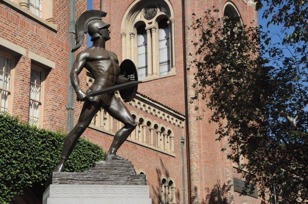 美國南加州大學爆發性騷醜聞,校方的管理及處理方式受到質疑。記者吳珮甄/攝影