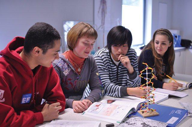 IB課程是一群學生一起解決問題的過程,如看待世界經濟的問題、醫院預算刪減與否等,...