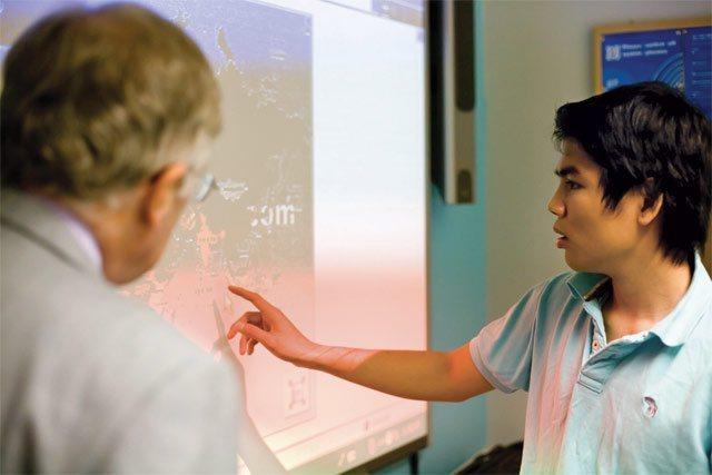IB課程上課沒有標準答案、培養解決問題的能力。 EF Academy/提供