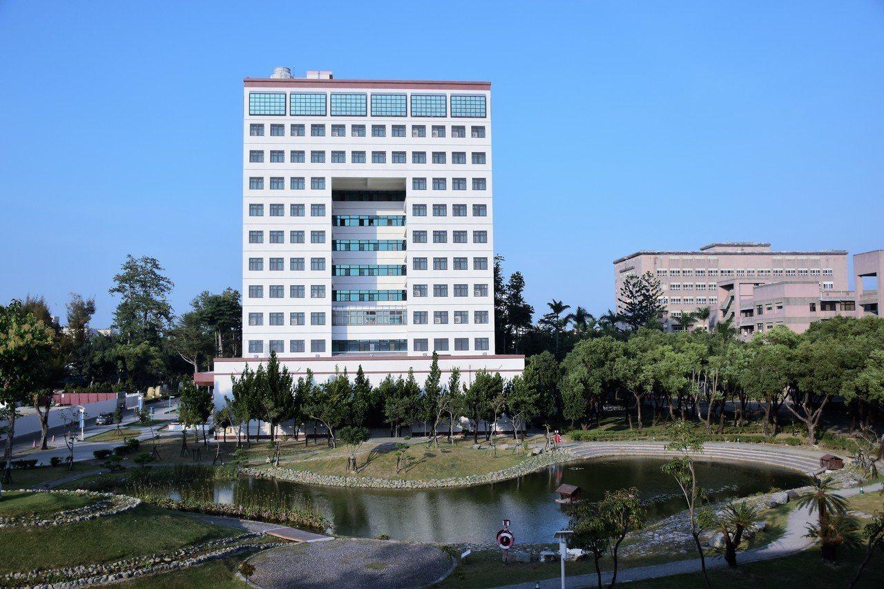 屏東大學校園環境優美。圖/國立屏東大學提供