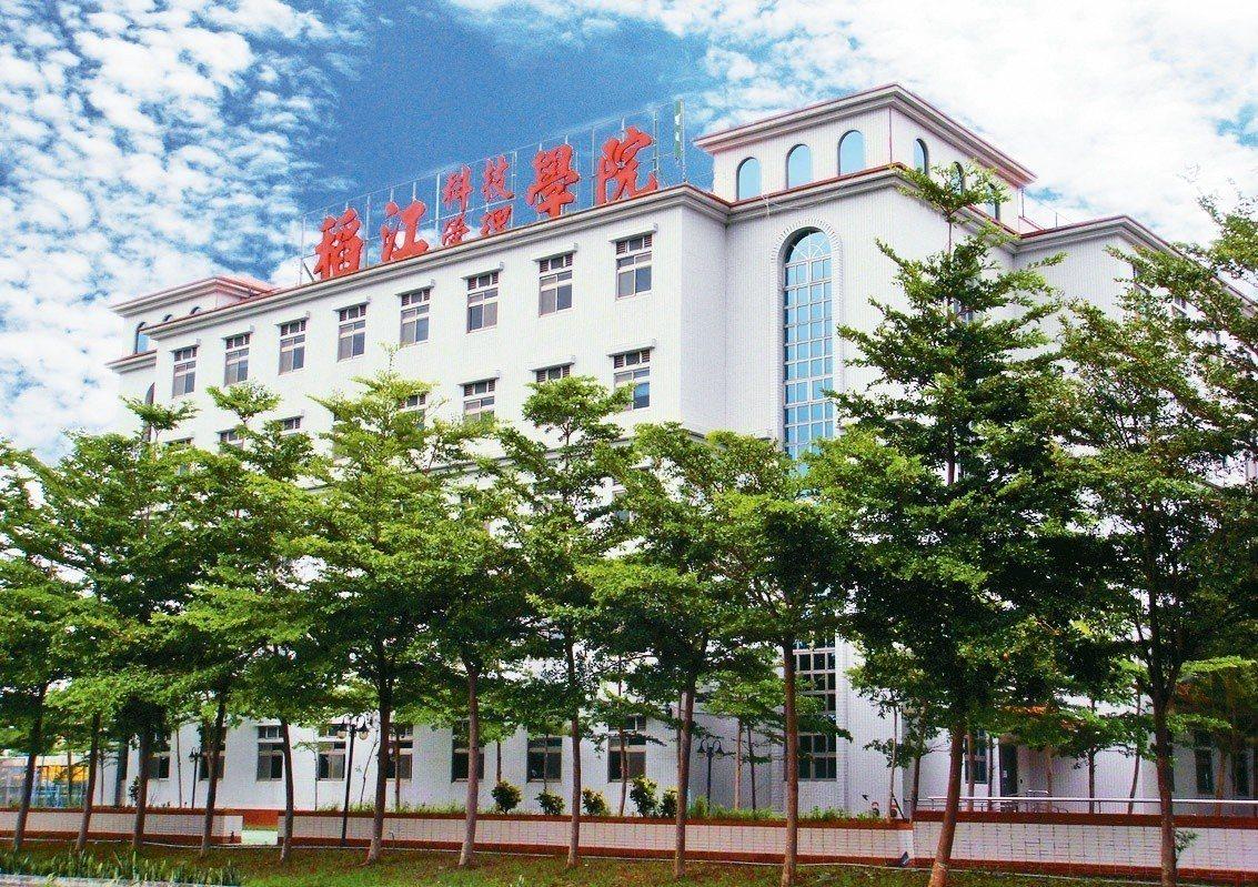 稻江校園美麗廣闊,採西班牙式建築,充滿人文氣息。/稻江科技暨管理學院提供