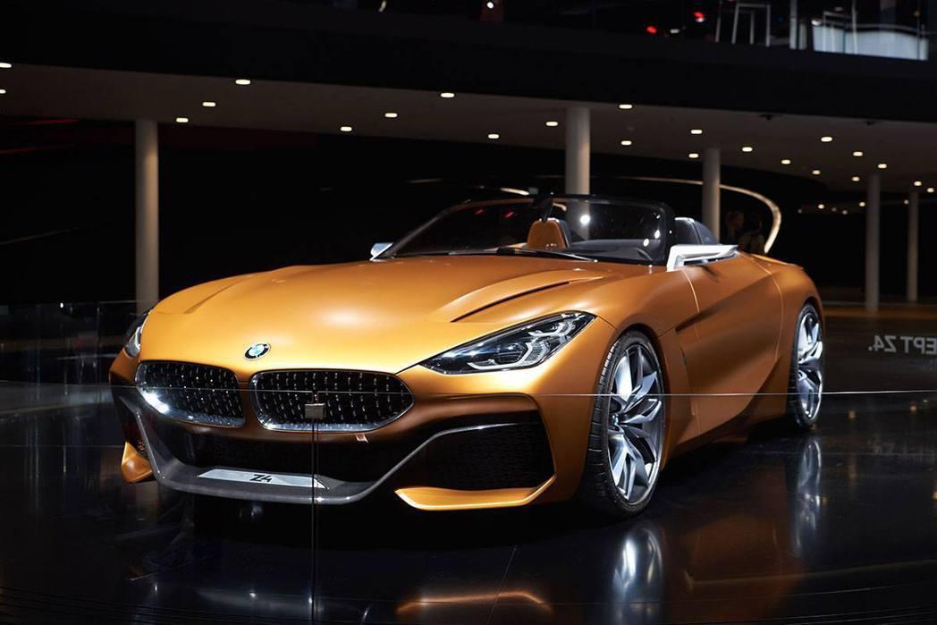 圖為BMW Concept Z4。 摘自BMW