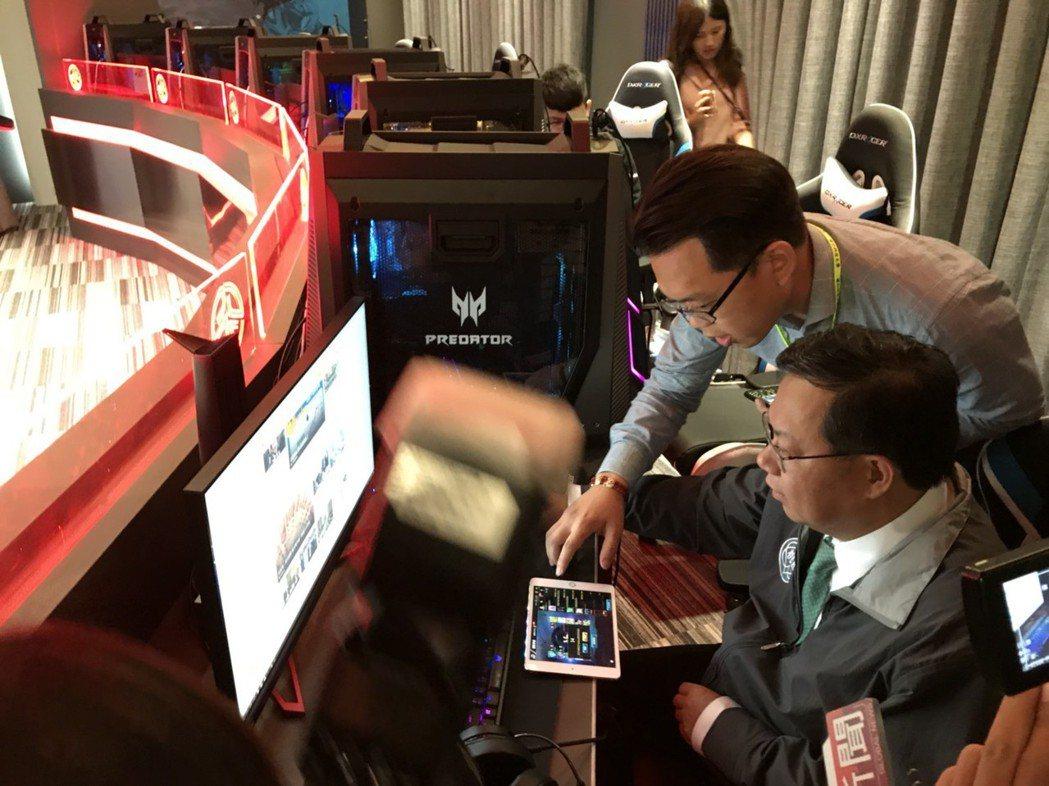 巿長電子競技比賽 健行科大/提供。