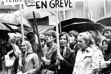 法國六八學運50周年——現身或缺席?女性的沉默與吶喊
