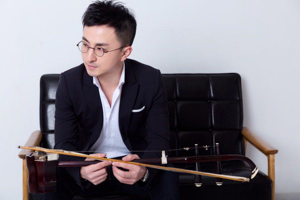 來自上海的二胡演奏家趙磊 照片提供:趙磊