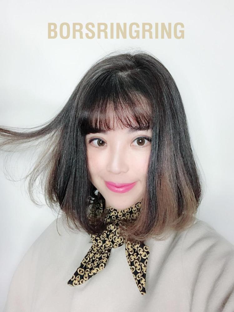 髮型創作/Ring Ring 。圖/StyleMap提供