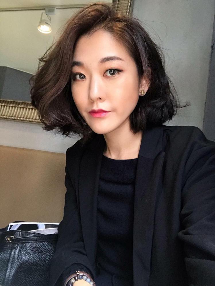 髮型創作/Ian Chao 。圖/StyleMap提供