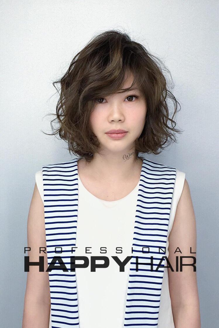 髮型創作/Wing Tsai 。圖/StyleMap提供