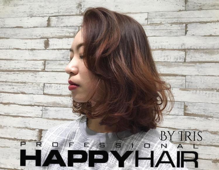 髮型創作/Iris艾瑞絲《曼萱》。圖/StyleMap提供