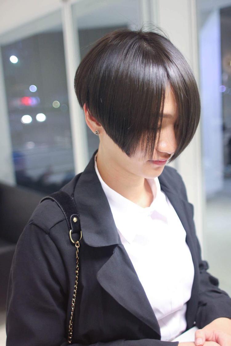 髮型創作/Aaron Yang。圖/StyleMap提供