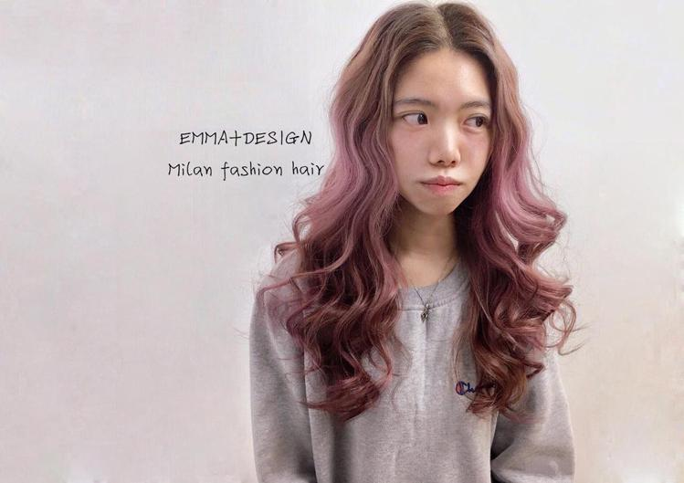 髮型創作/Milan fashion hair Emma。圖/StyleMap提...