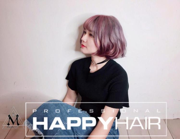 髮型創作/Miyasha (饅頭)。圖/StyleMap提供