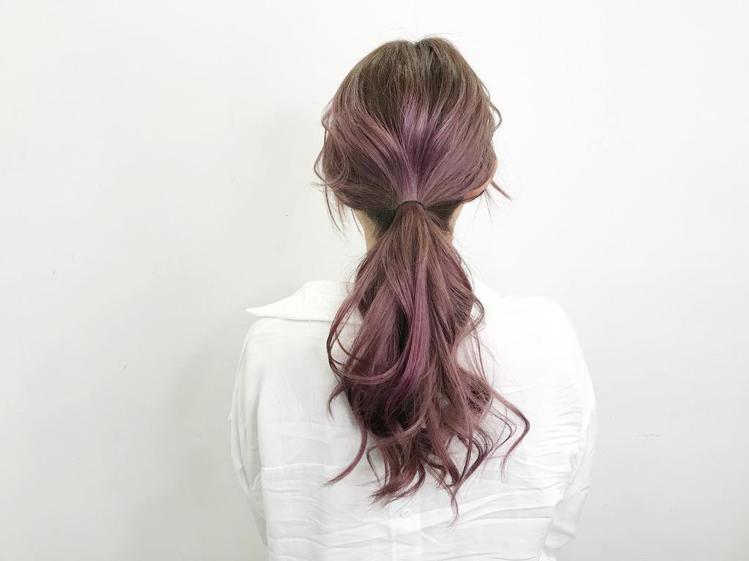 髮型創作/陳彥文 。圖/StyleMap提供
