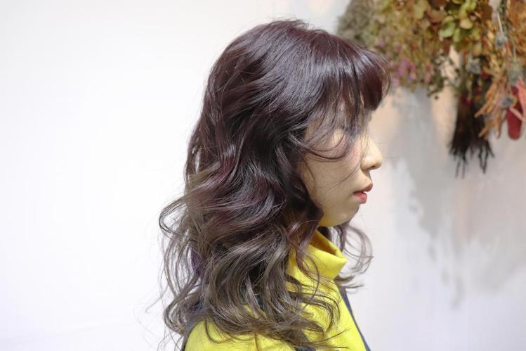 髮型創作/Howard Yang 。圖/StyleMap提供
