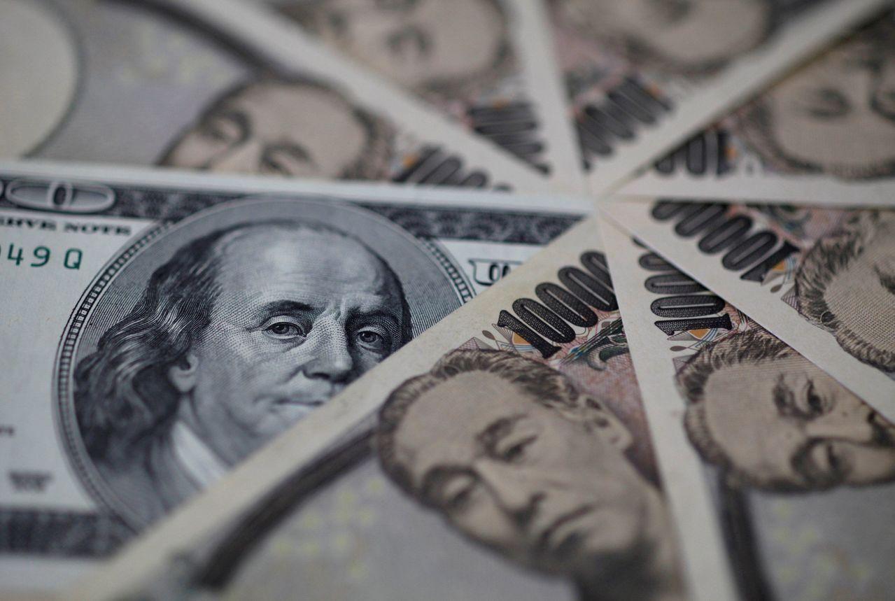 美元兌日圓升抵4個月高峰。路透