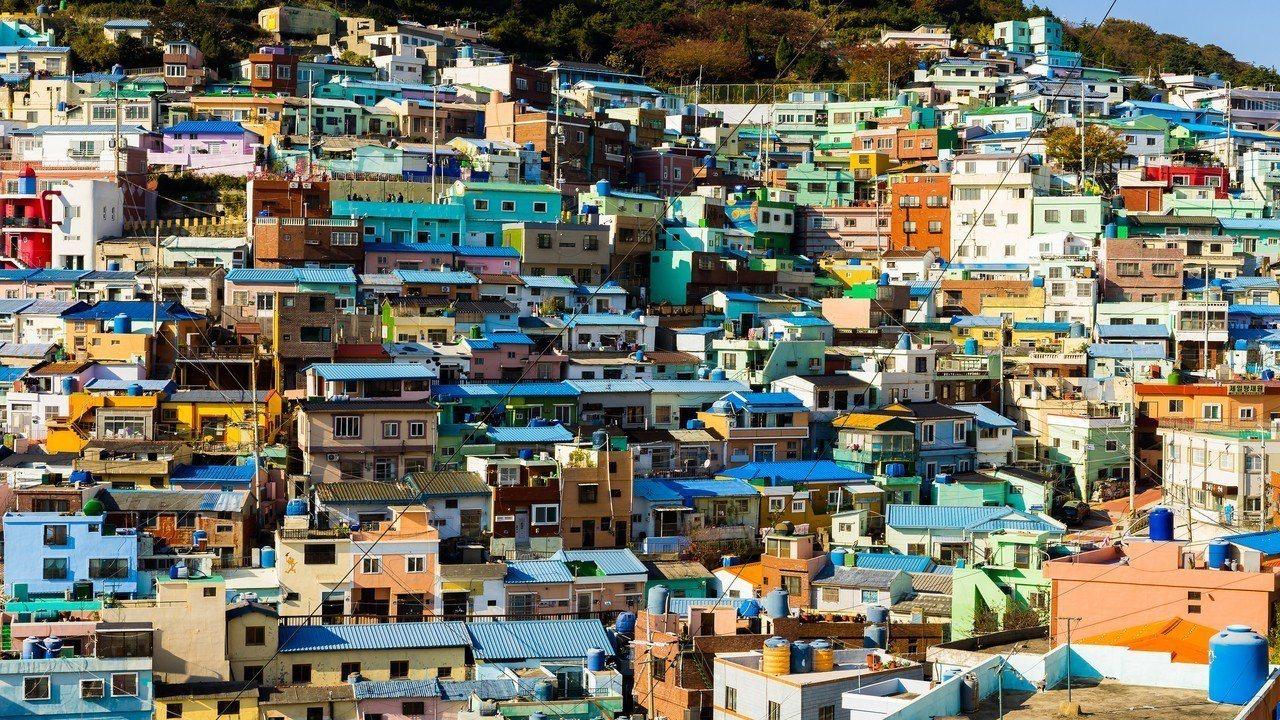 釜山甘川文化村。圖/燦星旅遊提供