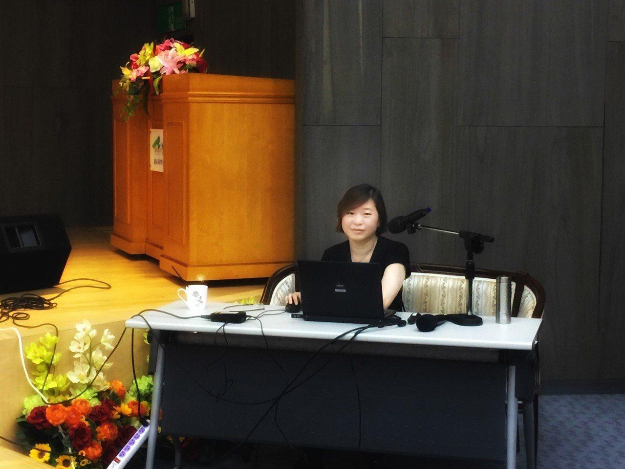 台北科技大學博士班學生王瑄獲得總統教育獎。圖/北科大提供