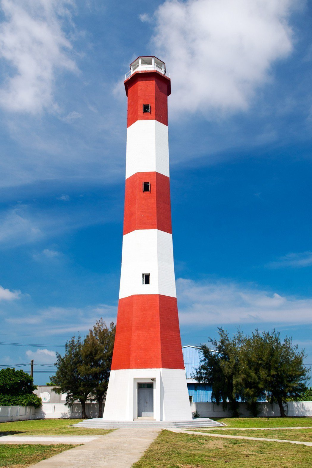 高美燈塔。圖/航港局提供