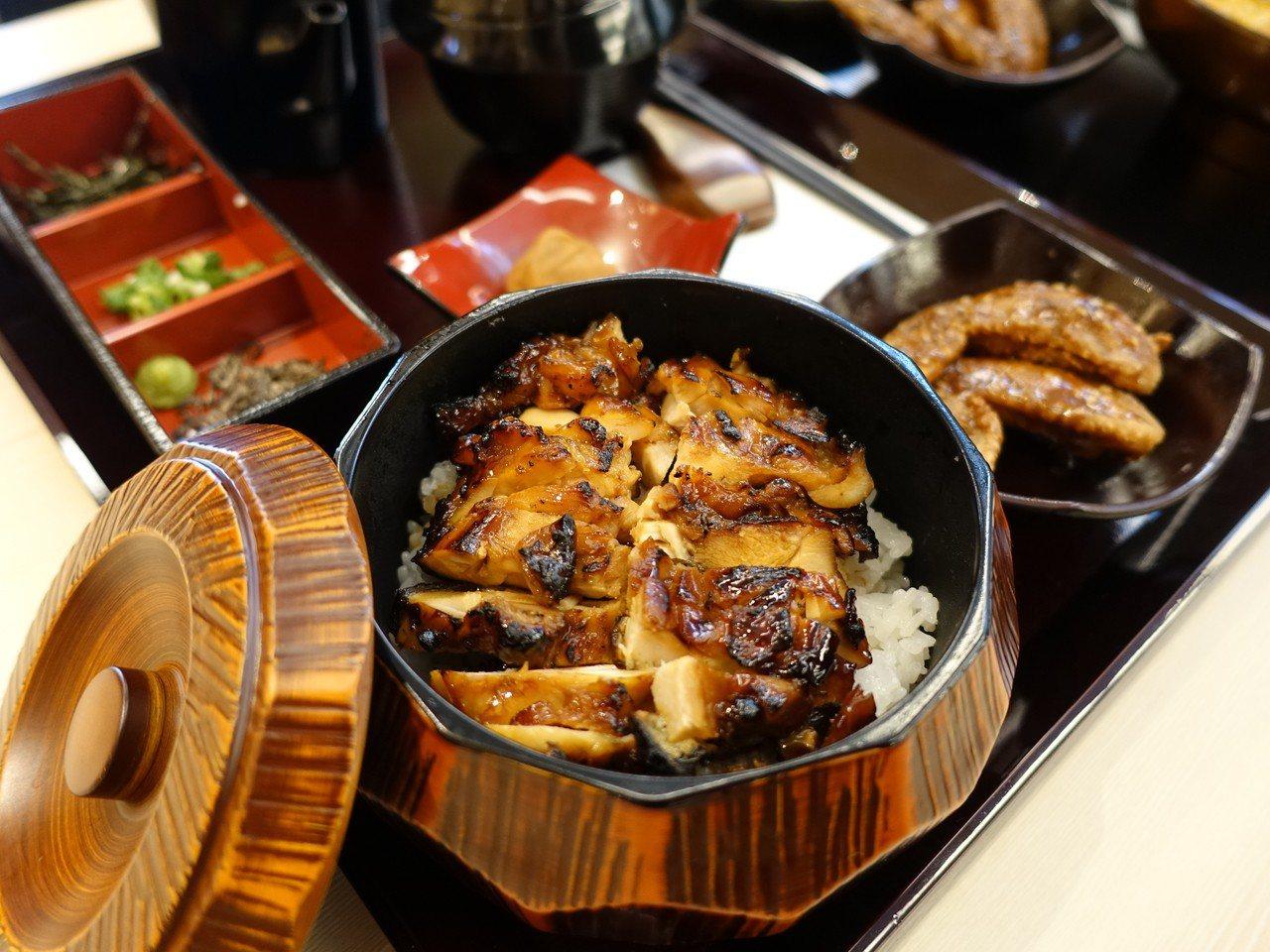 雞三和「雞肉三吃丼」。記者張芳瑜/攝影