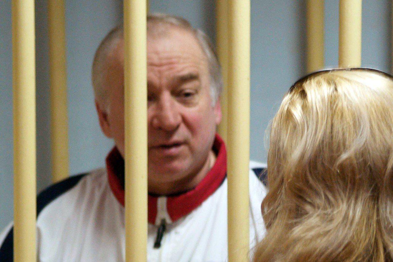 史克里帕2006年在俄國出庭的情形,後來因換諜而到英國定居。法新社