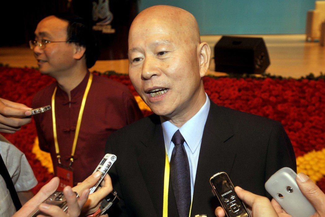 2009年許信良「以個人身分」,出席在廈門召開的出席海峽論壇大會。 (中通社)