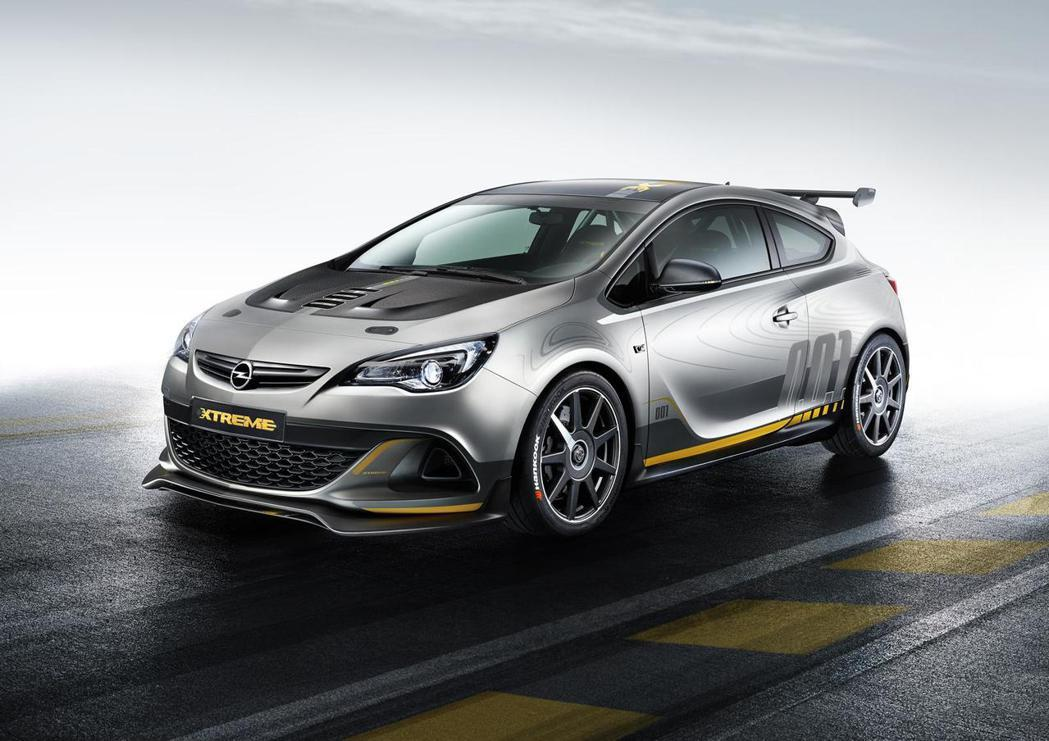 Astra OPC Extreme。 Opel提供