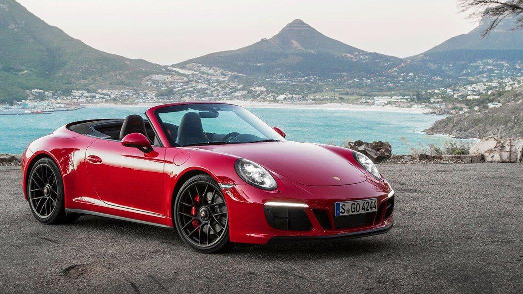 現行Porsche 911 Cabriolet。 摘自Porsche