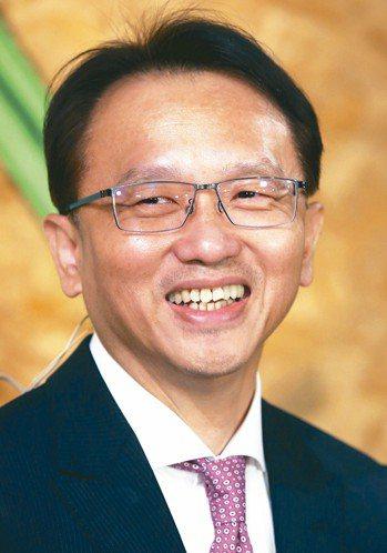 建碁董事長陳俊聖。 報系資料照