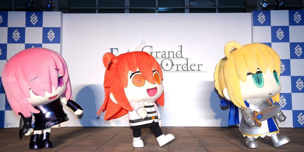 《FateGrand_Order》繁中版特別邀請超人氣嘉賓-咕噠子,與現場三百位...