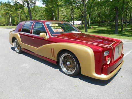 Lincoln Town Car改成鋼鐵人版勞斯萊斯!你敢坐嗎?
