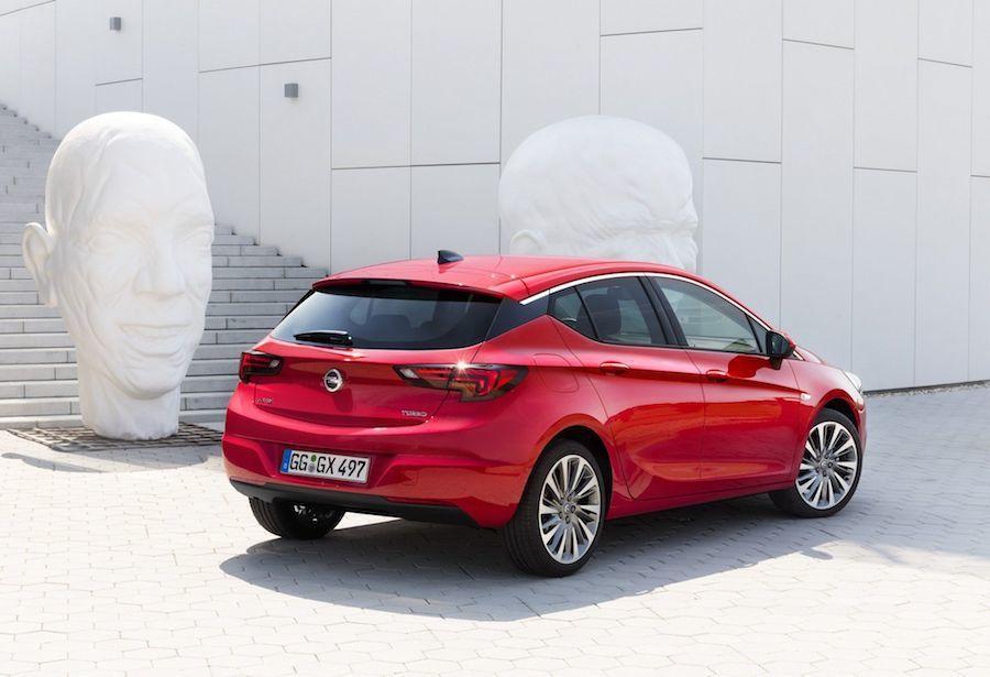 Opel Astra。 Opel提供