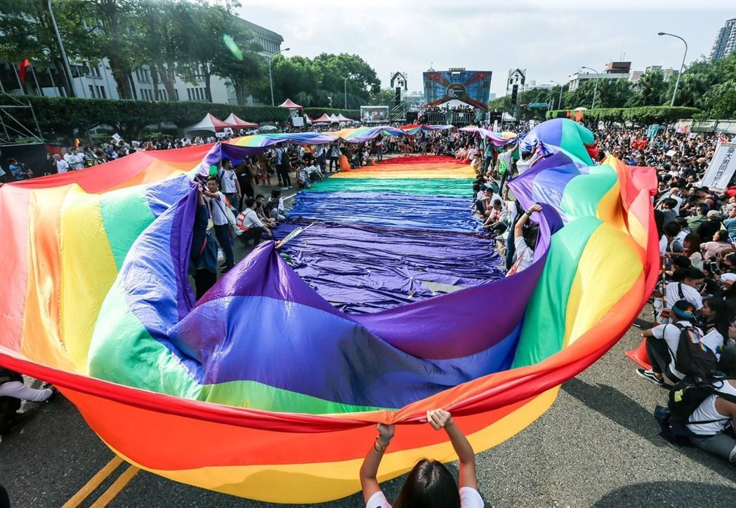 婚姻平權大平台、性別平等教育大平台今日列出常見的「十大謊言」,一一予以澄清。圖為...