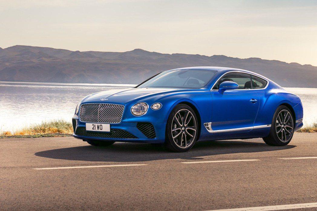 Continental GT 一般版本。 摘自Bentley