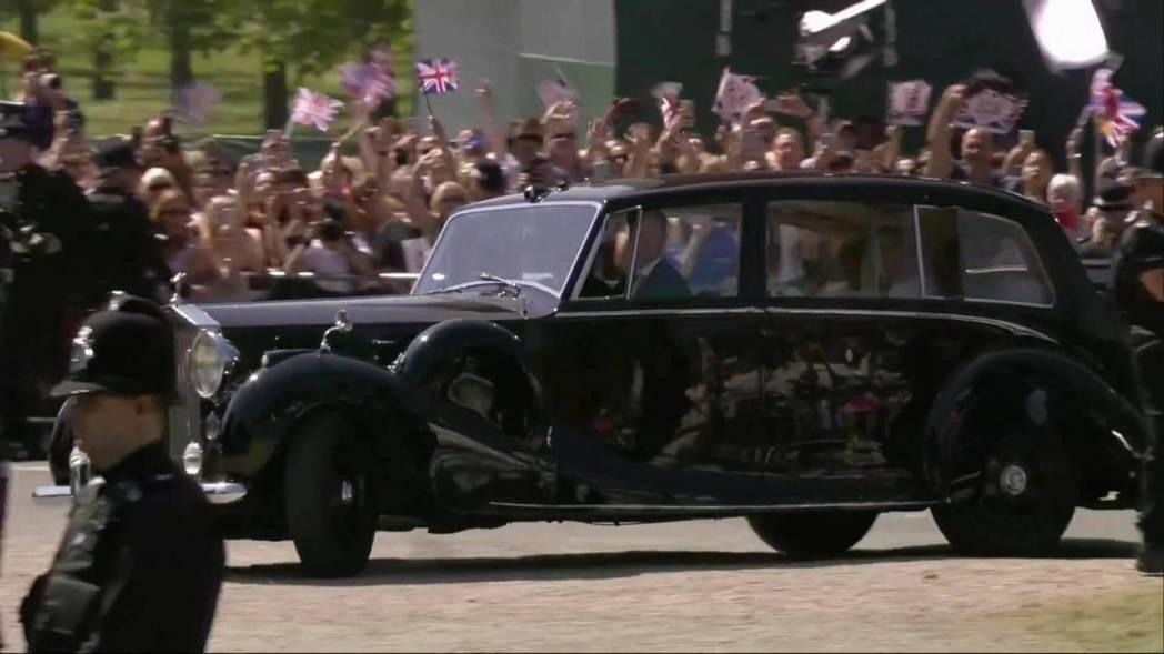1950 Rolls-Royce Phantom IV於英國皇室婚禮。 摘自Motor1