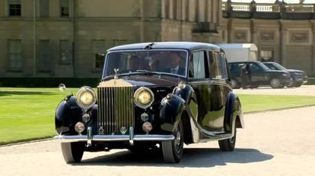 阿嬤的禮車?英國哈利王子婚禮 沿用伊麗莎白女王二世的1950 Phantom IV