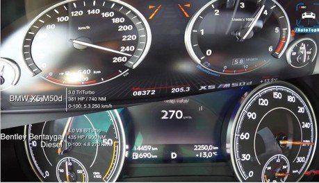(影音) 當Bentayga遇見X5 M50d 頂級柴油休旅對決